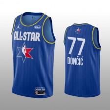 Dallas Mavericks Luka Doncic 2020 NBA All-Star Jeu Western Conference Maillot bleu