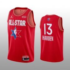 James Harden Houston Rockets Rouge 2020 NBA All-Star Jeu Western Conference Maillot Hommes