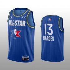 James Harden Houston Rockets Bleu 2020 NBA All-Star Jeu Western Conference Maillot Hommes