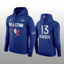 James Harden Houston Rockets Marine 2020 NBA All-Star Jeu Western Conference Club Pull over Hoodie
