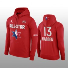 James Harden Houston Rockets Rouge 2020 NBA All-Star Jeu Western Conference Club Pull over Hoodie