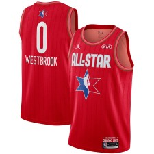 Jordan Brand Russell Westbrook Rouge 2020 NBA All-Star Jeu Swingman Fini Maillot