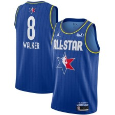 Jordan Brand Kemba Walker Bleu 2020 NBA All-Star Jeu Swingman Fini Maillot