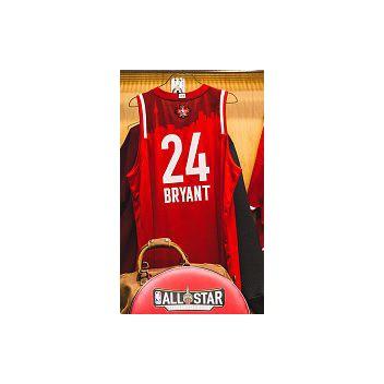 L'héritage de Kobe Bryant, célébré lors du week-end des étoiles - 2020 NBA All-Star aillot rouge Kobe Bryant
