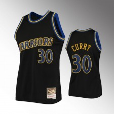 Golden State Warriors Stephen Curry Rings Collection Maillot noir