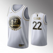 Golden State Warriors Andrew Wiggins Blanc 2019-20 Golden Édition Maillot