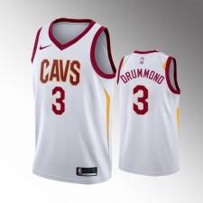Cavaliers de Cleveland Hommes Andre Drummond Blanc 2019-20 Maillot - Association