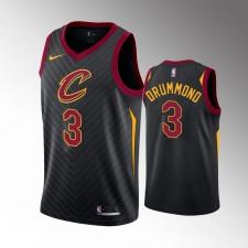 Hommes Cleveland Cavaliers Andre Drummond Noir 2019-20 Maillot - Déclaration