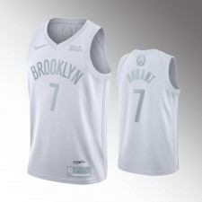 Brooklyn Nets Kevin Durant MVP Maillot - Blanc