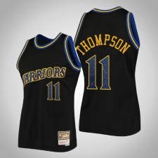 Warriors Klay Thompson Noir Anneaux Collection Swingman Mitchell - Ness Maillot