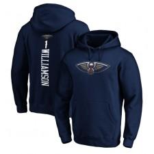 Pullover à Capuche Zion Williamson New Orleans Pelicans Fanatics Branded Team Meneur Nom & Nombre - Marine