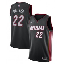 Jimmy Butler Miami Heat Nike 2019/20 Swingman Maillot Noir - Édition d'icônes