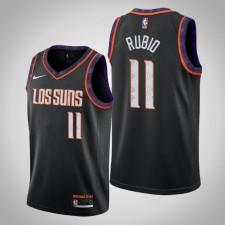 Suns 2019-20 Ricky Rubio Maillot de la Ville Noire