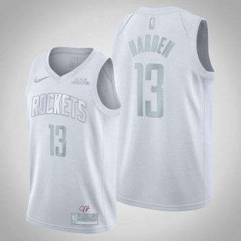 Houston Rockets James Harden MVP Blanc Swingman Maillot