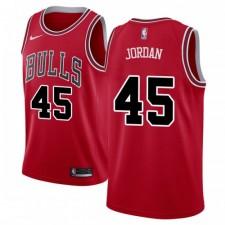 Nike Chicago Bulls Swingman Rouge Michael Jordan 45 Maillot - Édition Icône - Hommes