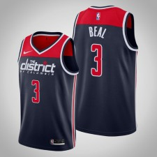 Wizards 2019-20 Bradley Beal Navy Statement Édition Maillot