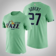 Utah Jazz Rudy Gobert Disney X NBA Mascotte Crossover Postseason T-Chemise Vert