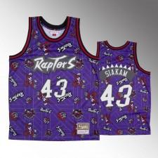 Les Raptors de Toronto masculins Pascal Siakam se déchirent pack maillot violet