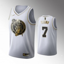 Boston Celtics Jaylen Brown Blanc 2019-20 Golden Édition Maillot