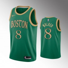 Hommes Boston Celtics Kemba Walker Vert Maillot - Ville
