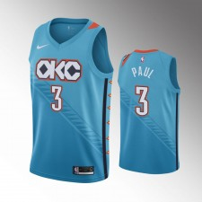 Oklahoma City Thunder Chris Paul City Maillot - Bleu