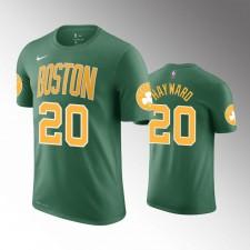 Les Celtics de Boston hommes Gordon Hayward 2018-19 Ont gagné le T-Chemise vert