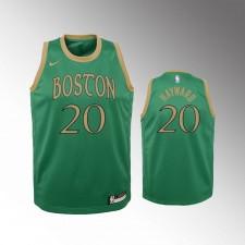 Enfants Boston Celtics Gordon Hayward 2019-20 City Vert Maillot