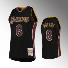 Los Angeles Lakers 8 Kobe Bryant Rings Collection Maillot Noir