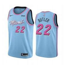 Hommes Miami Heat Jimmy Butler City Bleu Noir Lives Matter Maillot