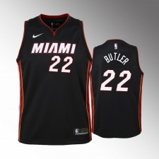 Enfants Miami Heat Jimmy Butler Icon Noir Maillot