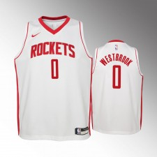 Enfants Houston Rockets Russell Westbrook Association Blanc Maillot