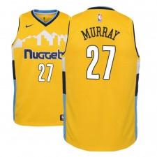 Enfants Denver Nuggets Jamal Murray Déclaration Maillot Jaune