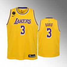 Les Enfants. Los Angeles Lakers Anthony Davis 2020 Icon Remember Kobe Bryant Or Maillot