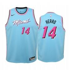 Tyler Herro Miami Heat Bleu City Maillot - Jeunesse