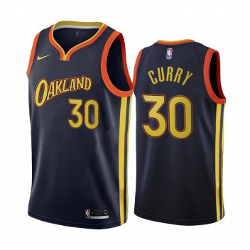 Stephen Curry Golden State Warriors Marine City Édition Oakland 2020-21 Maillot