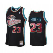 Blake Griffin Detroit Pistons Noir Maillot 2020 Recharger Classique