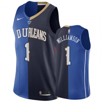 New Orleans Pelicans Zion Williamson Hommes Split Maillot