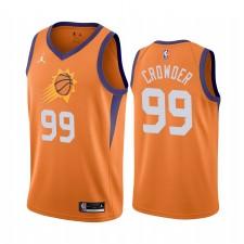 Jae Crowder Phoenix Suns 2020-21 Orange Déclaration Maillot Commerce