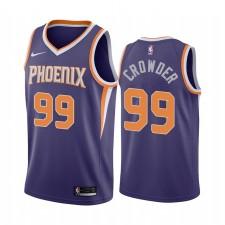 Jae Crowder Phoenix Suns 2020-21 Violet Icône Maillot Commerce