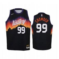 Jae Crowder Phoenix Suns Enfants Noir Ville Maillot Commerce