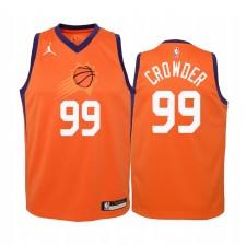 Jae Crowder Phoenix Suns Enfants Orange Statement Maillot 2020 Commerce
