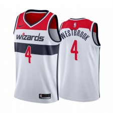 Russell Westbrook Washington Wizards Blanc Association Maillot Commerce