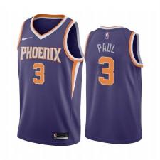 Chris Paul Phoenix Suns 2020-21 Violet Icône Édition Maillot