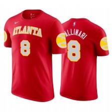 Danilo Gallinari Hawks & 8 Icon T-shirt rouge