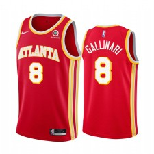 Danilo Gallinari Atlanta Hawks Icon rouge Maillot 2020 Commerce