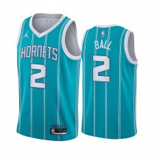 Lamelo Ball 2020 NBA Draft Charlotte Hornets Teale icon Maillot