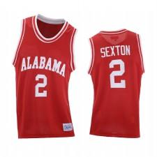 Alabama Crimson Marée Collin Sexton Rouge Rouge Basketball Basketball Maillot