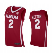 Alabama Crimson Tide Collin Sexton Crimson Replica College Basketball Maillot