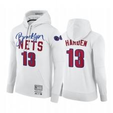 James Harden Brooklyn Nets NBA X BR X M & N Sweat Hoodie Blanc Classics Hardwood