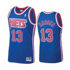 James Harden & 13 Brooklyn Nets Bleu Hardwood Classics Maillot